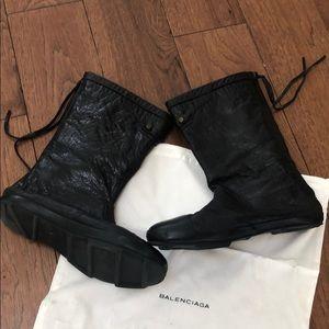 AUTHENTIC BALENCIAGA BLACK BOOTS